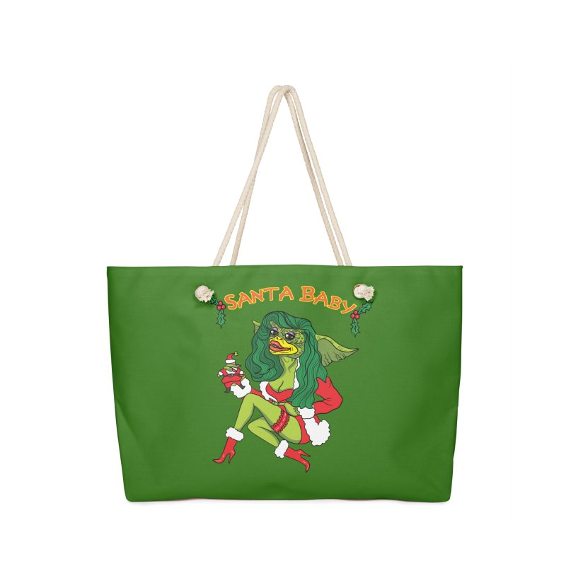 Santa Baby Accessories Bag by Angela Tarantula
