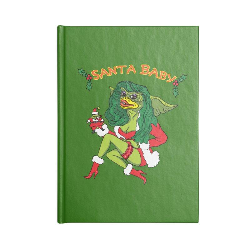 Santa Baby Accessories Notebook by Angela Tarantula