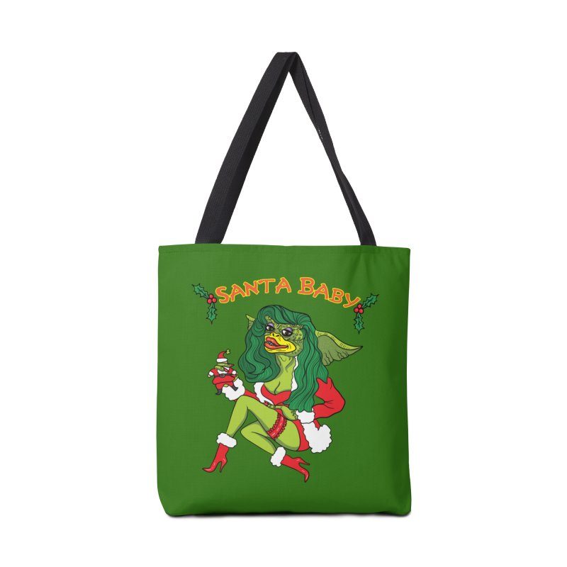 Santa Baby Accessories Tote Bag Bag by Angela Tarantula