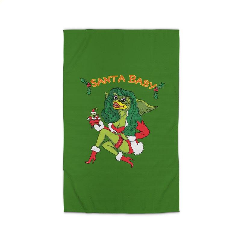 Santa Baby Home Rug by Angela Tarantula