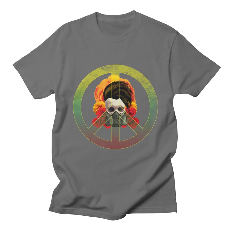 Peace Warrior Men's T-Shirt by Angela Tarantula