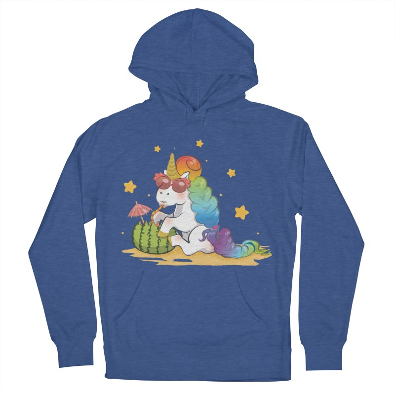 Even Unicorns ... Women's Pullover Hoody by angelielle's Artist Shop