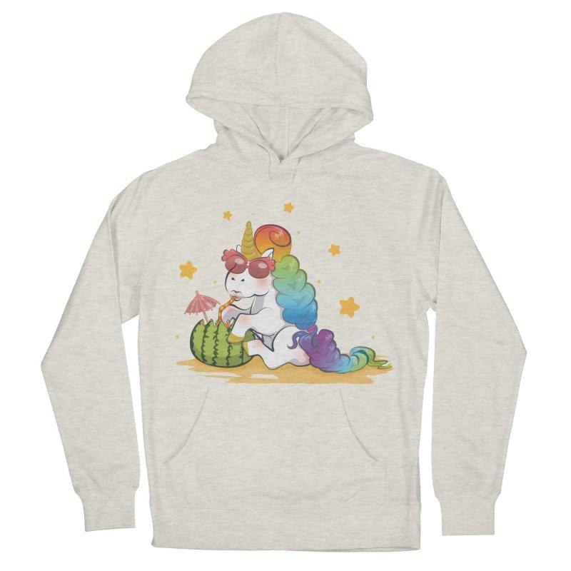 Even Unicorns ... Men's Pullover Hoody by angelielle's Artist Shop