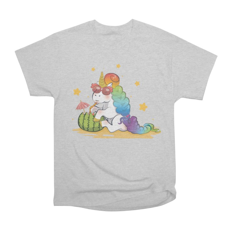 Even Unicorns ... Women's Classic Unisex T-Shirt by angelielle's Artist Shop