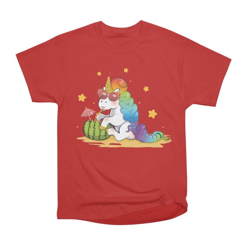 Even Unicorns ... Men's Classic T-Shirt by angelielle's Artist Shop