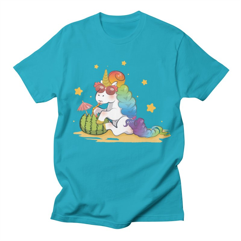 Even Unicorns ... Women's Unisex T-Shirt by angelielle's Artist Shop