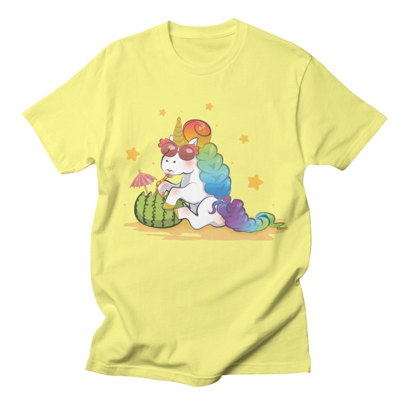 Even Unicorns ... Women's Regular Unisex T-Shirt by angelielle's Artist Shop