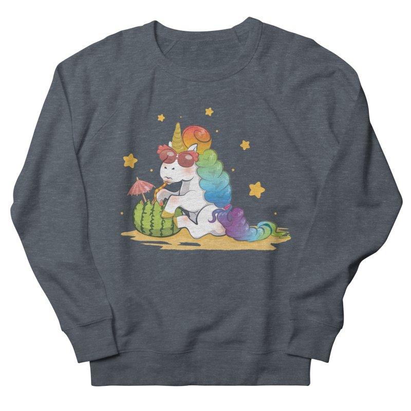 Even Unicorns ... Women's French Terry Sweatshirt by angelielle's Artist Shop