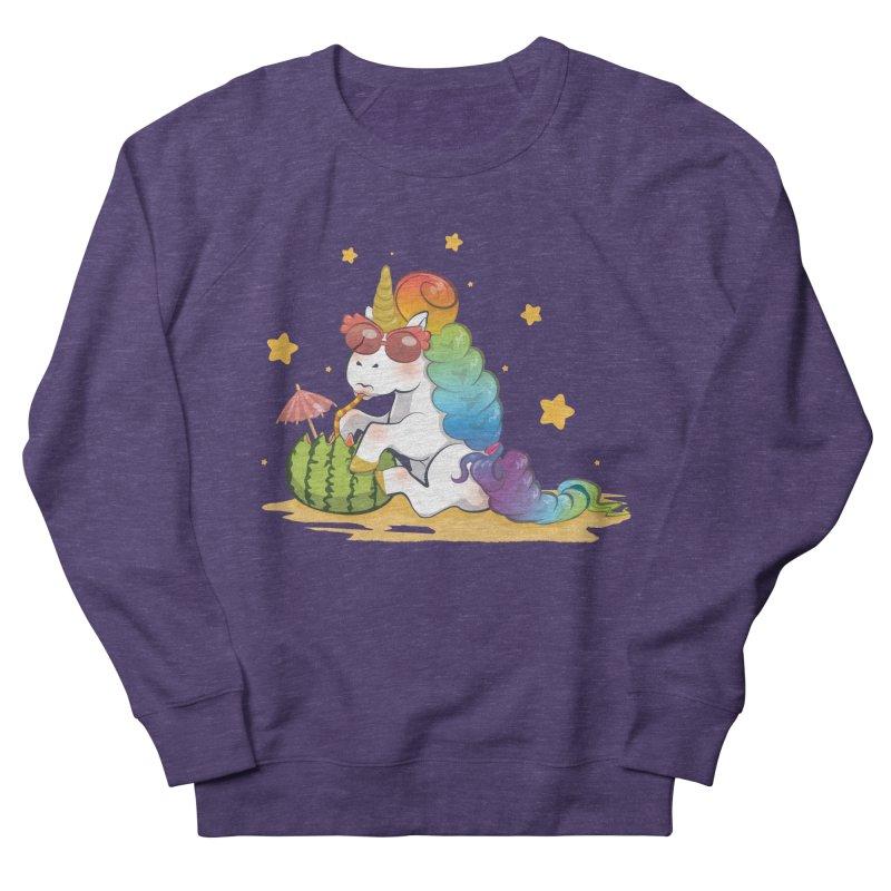 Even Unicorns ... Men's Sweatshirt by angelielle's Artist Shop