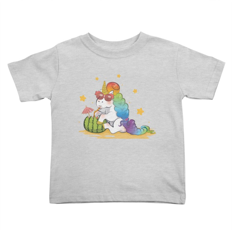 Even Unicorns ... Kids Toddler T-Shirt by angelielle's Artist Shop