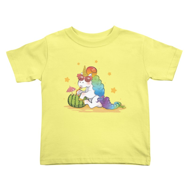 Even Unicorns ... Kids Toddler T-Shirt by angelielle's Artist Shop