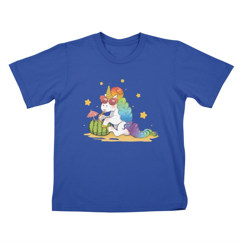Even Unicorns ... Kids T-Shirt by angelielle's Artist Shop
