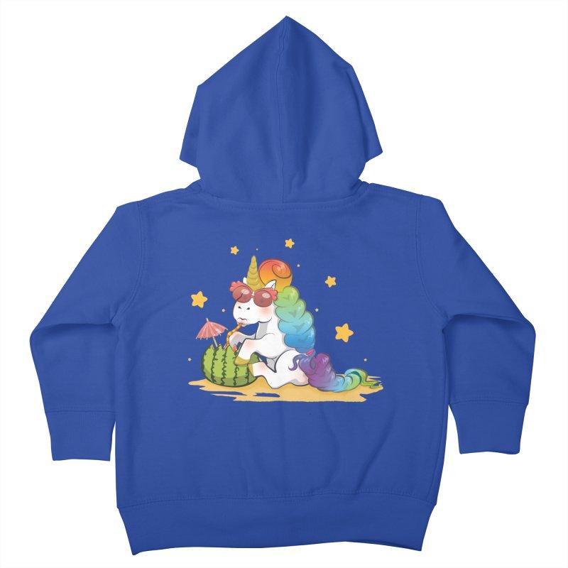 Even Unicorns ... Kids Toddler Zip-Up Hoody by angelielle's Artist Shop
