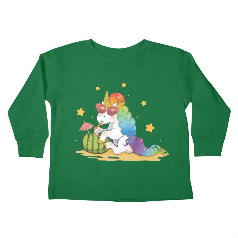 Even Unicorns ... Kids Toddler Longsleeve T-Shirt by angelielle's Artist Shop