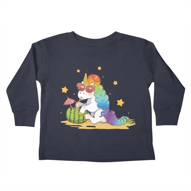Even Unicorns ... Kids Toddler Longsleeve T-Shirt by angelielle's Artist Shop