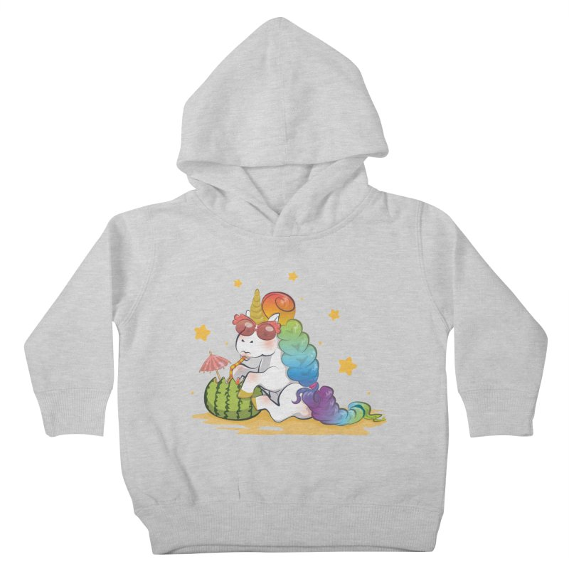 Even Unicorns ... Kids Toddler Pullover Hoody by angelielle's Artist Shop