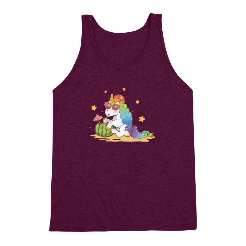 Even Unicorns ... Men's Triblend Tank by angelielle's Artist Shop