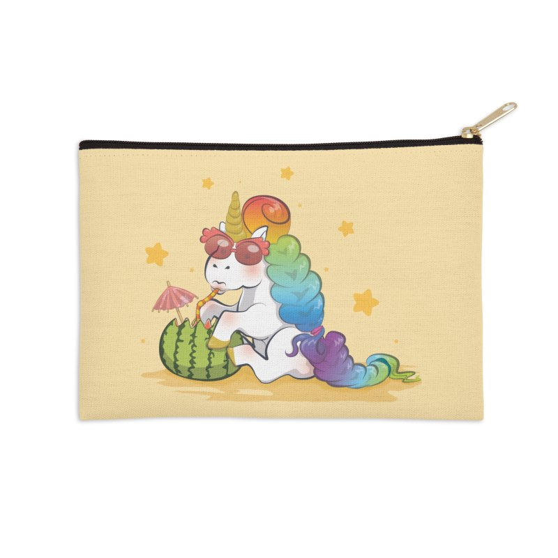 Even Unicorns ... Accessories Zip Pouch by angelielle's Artist Shop