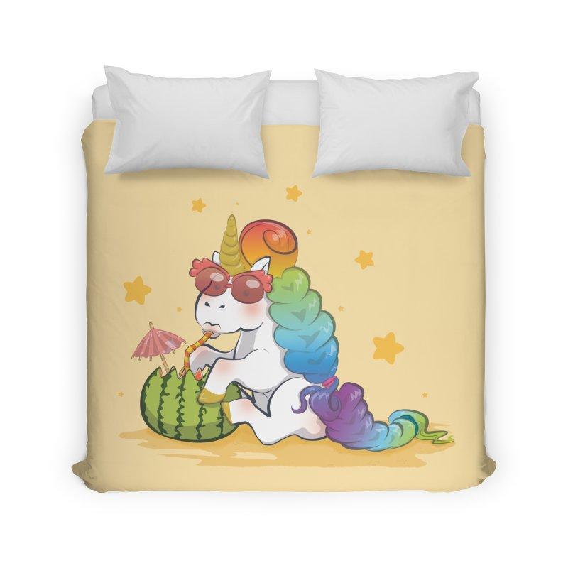 Even Unicorns ... Home Duvet by angelielle's Artist Shop