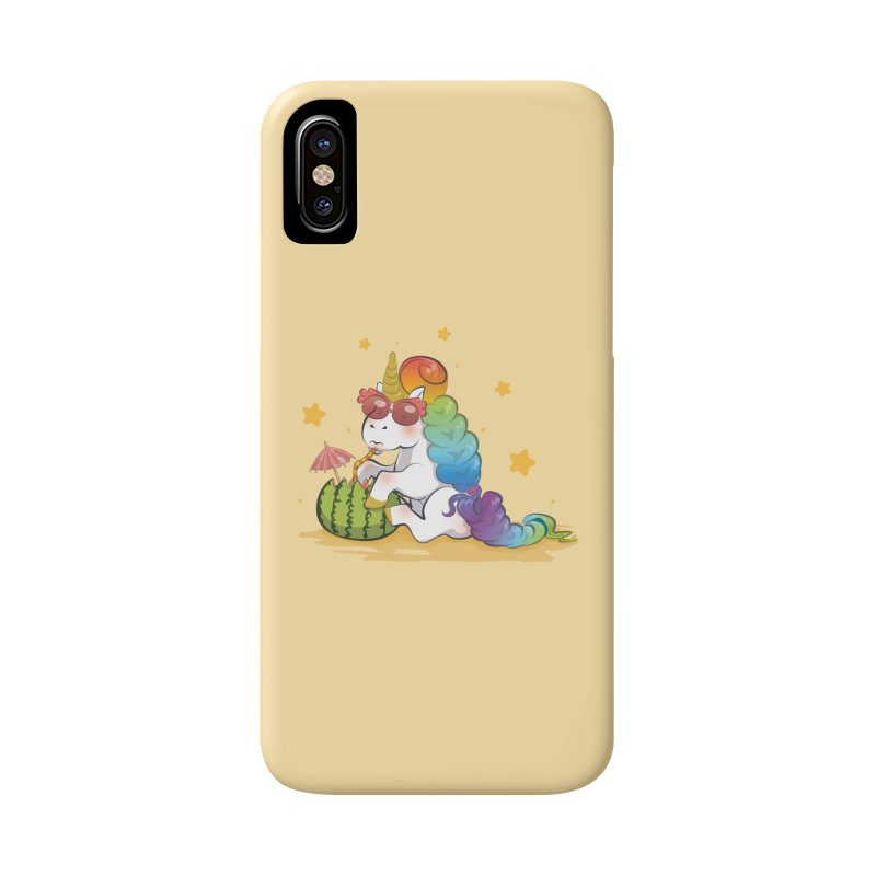 Even Unicorns ... Accessories Phone Case by angelielle's Artist Shop