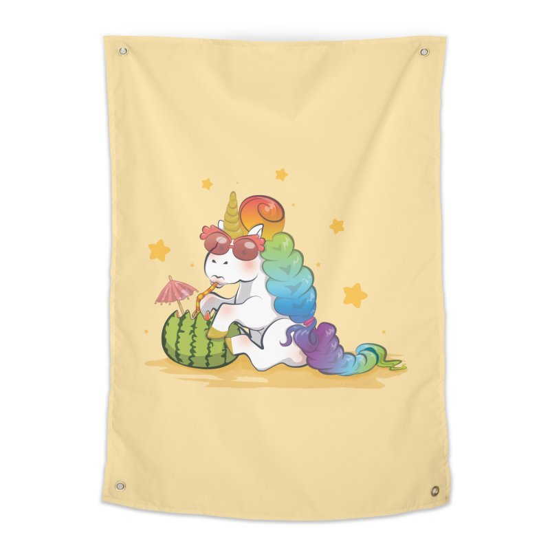Even Unicorns ... Home Tapestry by angelielle's Artist Shop