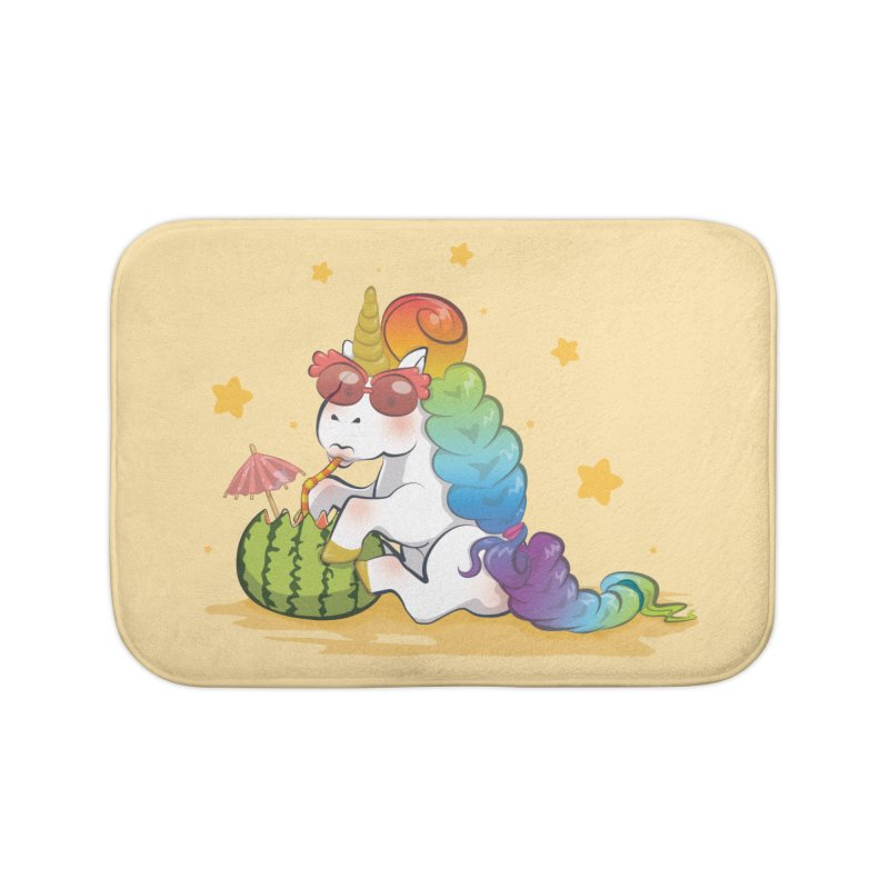 Even Unicorns ... Home Bath Mat by angelielle's Artist Shop