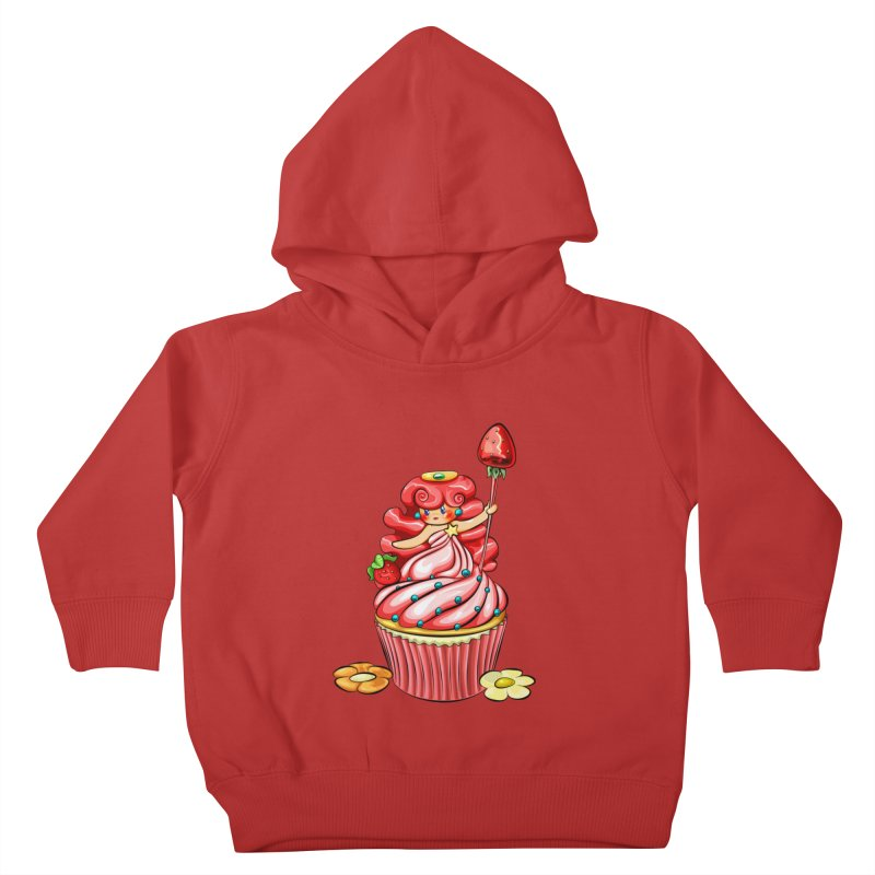 Cupcake Princess Kids Toddler Pullover Hoody by angelielle's Artist Shop
