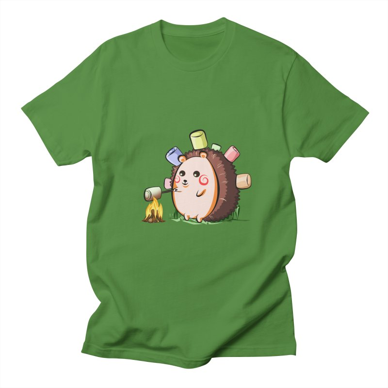 Hedgie Men's Regular T-Shirt by angelielle's Artist Shop
