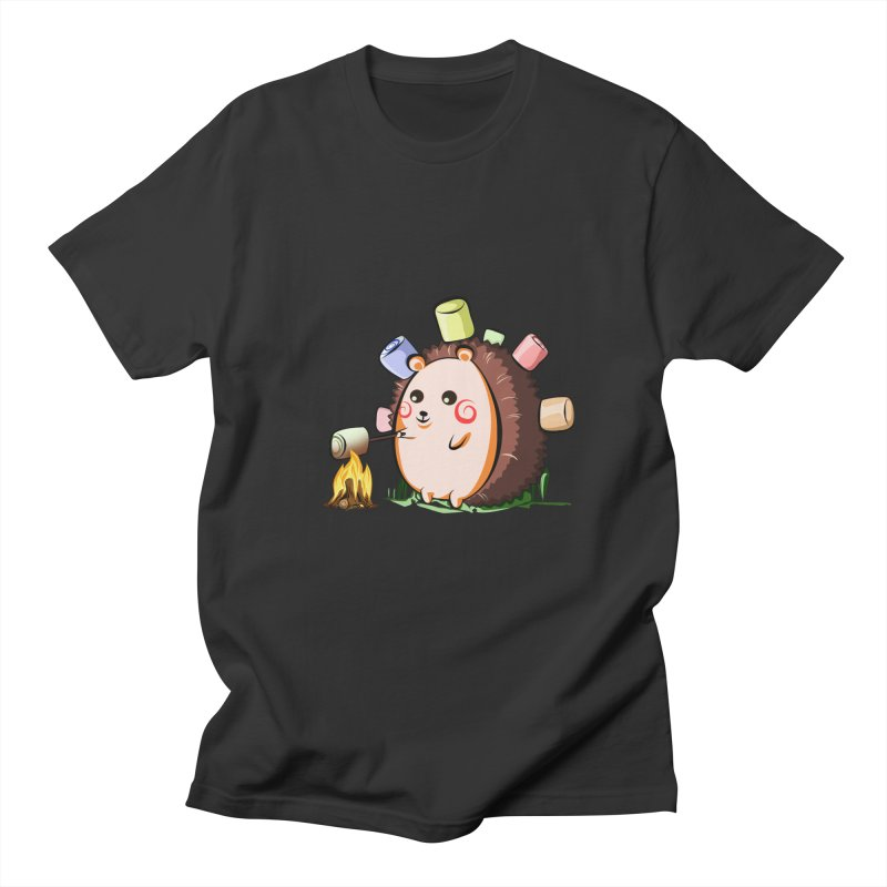 Hedgie Men's T-shirt by angelielle's Artist Shop