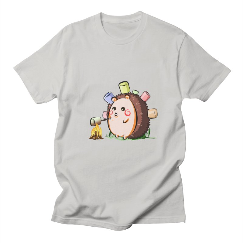 Hedgie Men's Regular T-Shirt by angelielle's Artist Shop