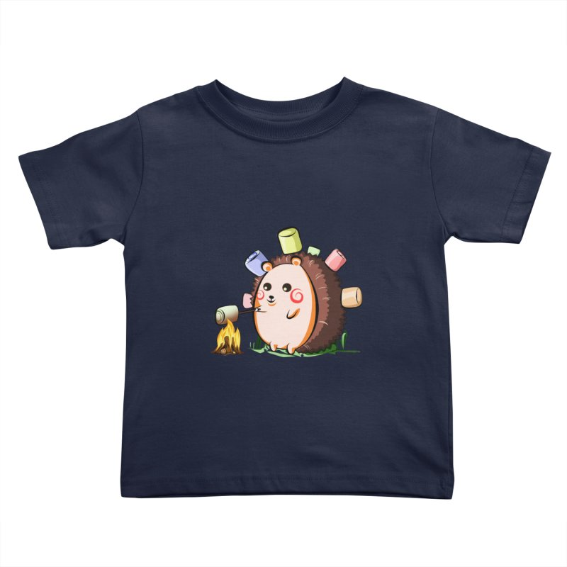 Hedgie Kids Toddler T-Shirt by angelielle's Artist Shop