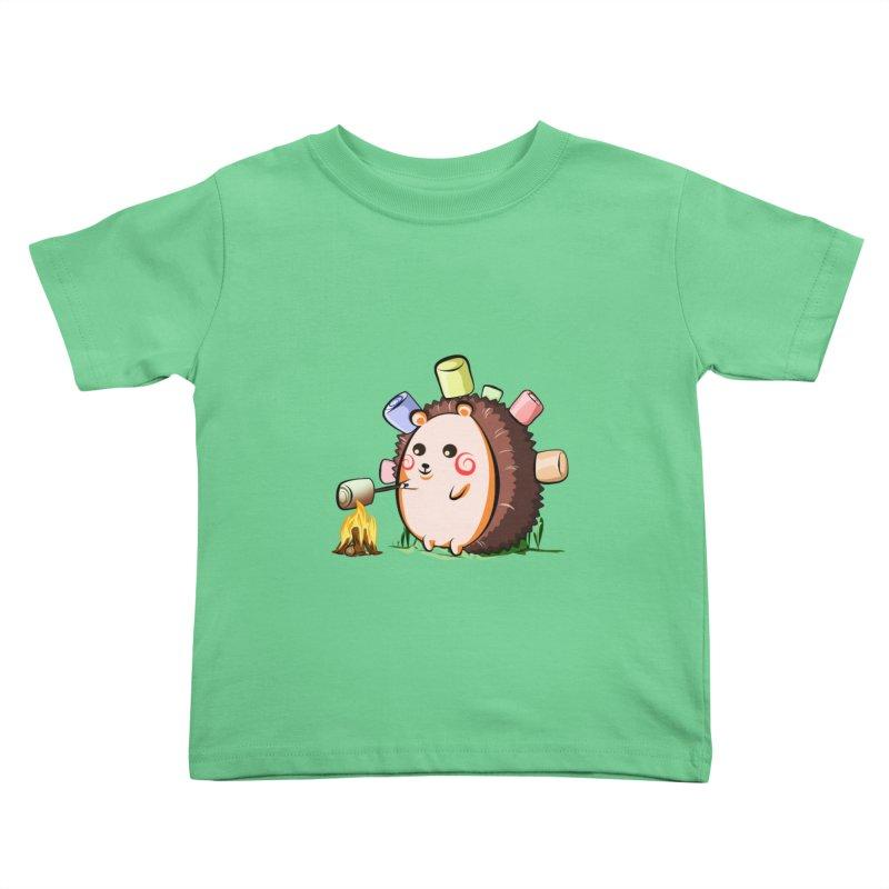 Hedgie Kids Toddler T-Shirt by angelielle's Artist Shop
