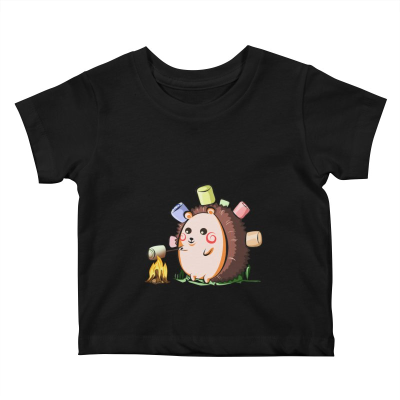Hedgie Kids Baby T-Shirt by angelielle's Artist Shop