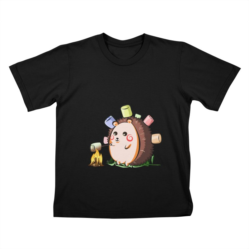 Hedgie Kids T-Shirt by angelielle's Artist Shop
