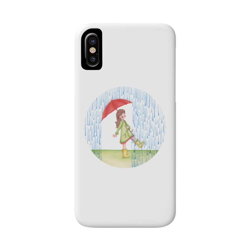 Dancing in the Rain Accessories Phone Case by Angelilu's Artist Shop