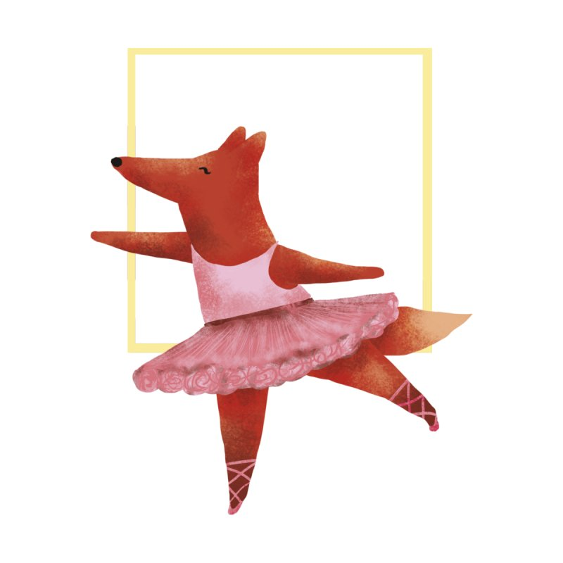 Nina Fox Ballet by Angelilu's Artist Shop