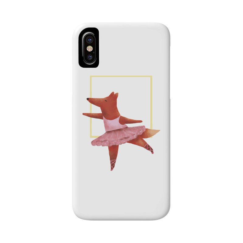 Nina Fox Ballet Accessories Phone Case by Angelilu's Artist Shop