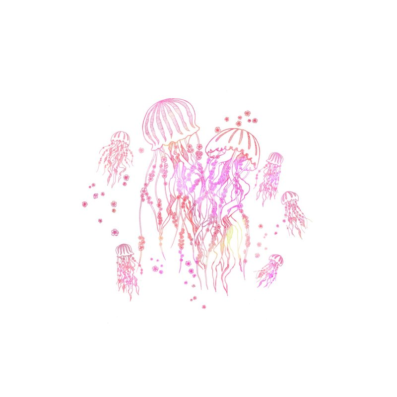 Sakura Jellyfish by Angelilu's Artist Shop