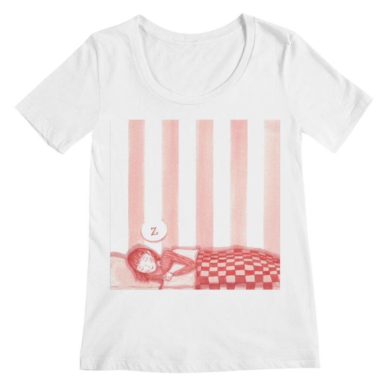 Sweet dream s Women's Regular Scoop Neck by Angelilu's Artist Shop