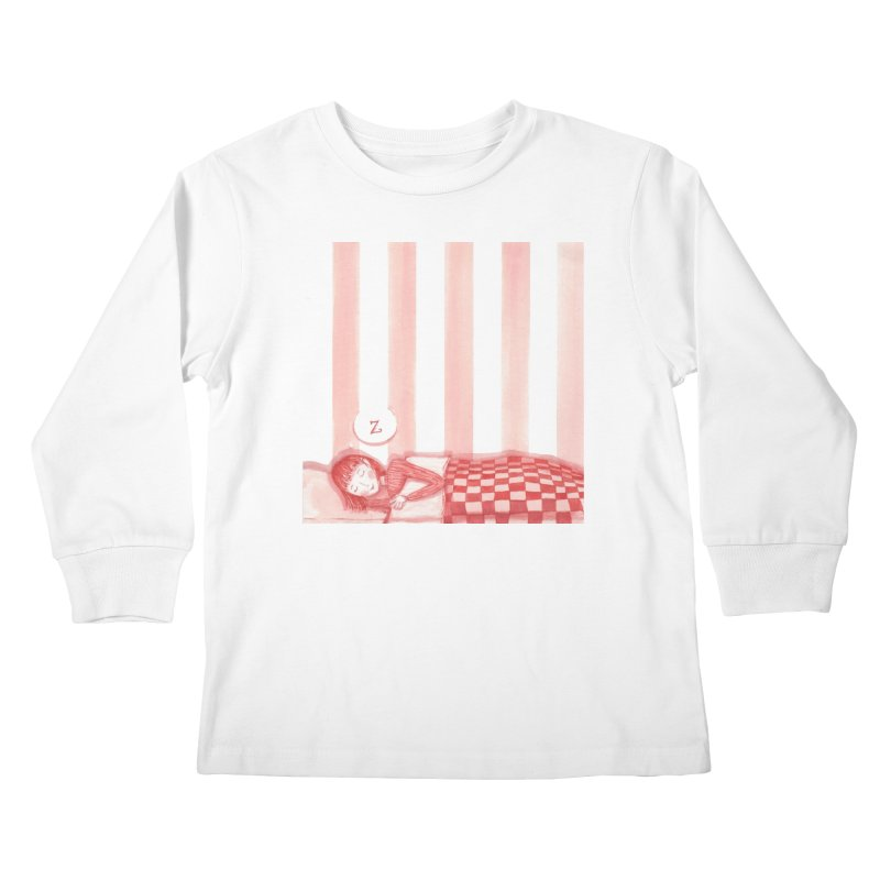 Sweet dream s Kids Longsleeve T-Shirt by Angelilu's Artist Shop