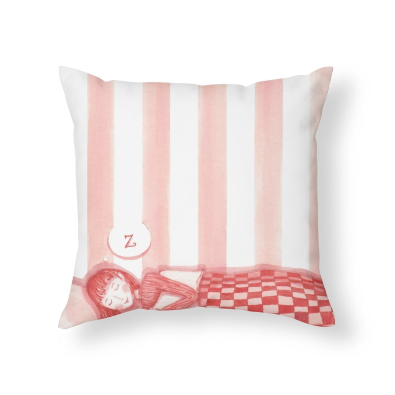 Sweet dream s Home Throw Pillow by Angelilu's Artist Shop