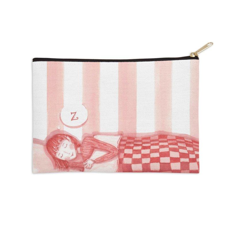 Sweet dream s Accessories Zip Pouch by Angelilu's Artist Shop