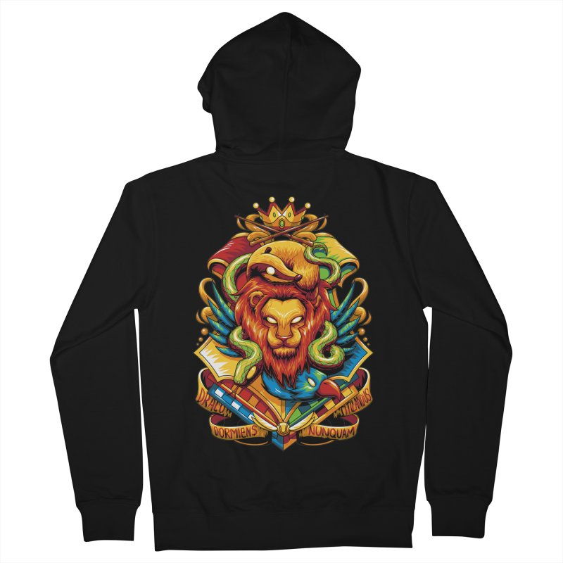 School of Magic Men's Zip-Up Hoody by anggatantama's Artist Shop