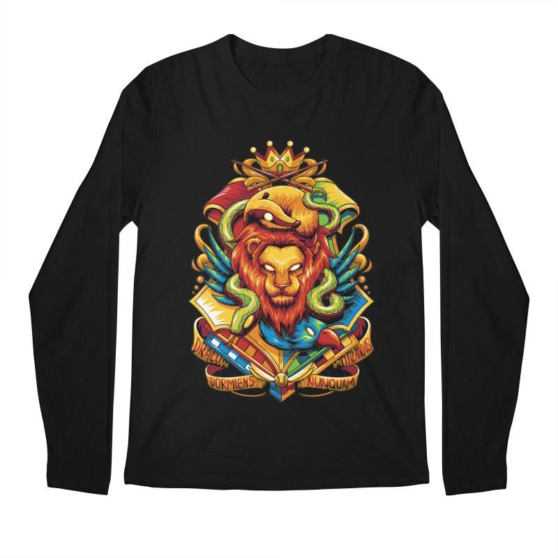 School of Magic Men's Longsleeve T-Shirt by anggatantama's Artist Shop