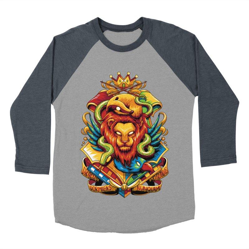 School of Magic Men's Baseball Triblend T-Shirt by anggatantama's Artist Shop