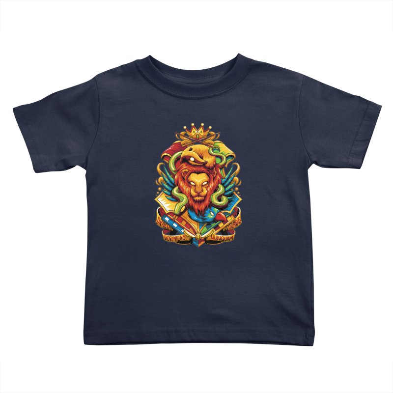 School of Magic Kids Toddler T-Shirt by anggatantama's Artist Shop