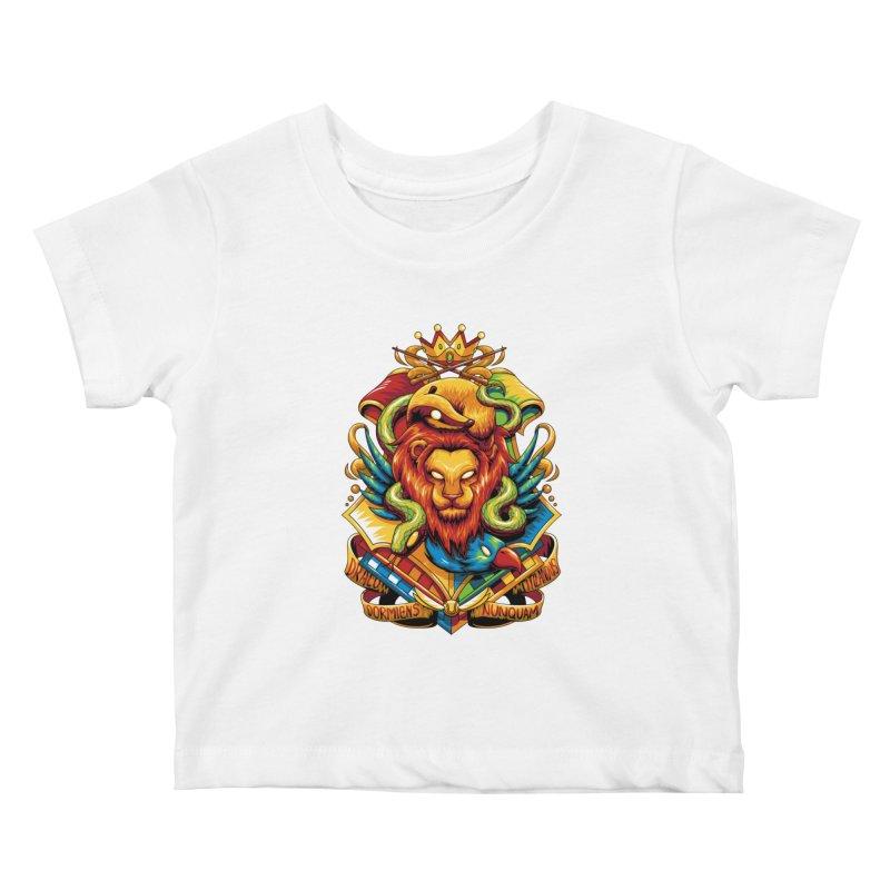 School of Magic Kids Baby T-Shirt by anggatantama's Artist Shop