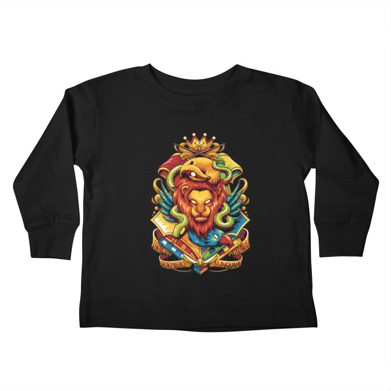 School of Magic Kids Toddler Longsleeve T-Shirt by anggatantama's Artist Shop