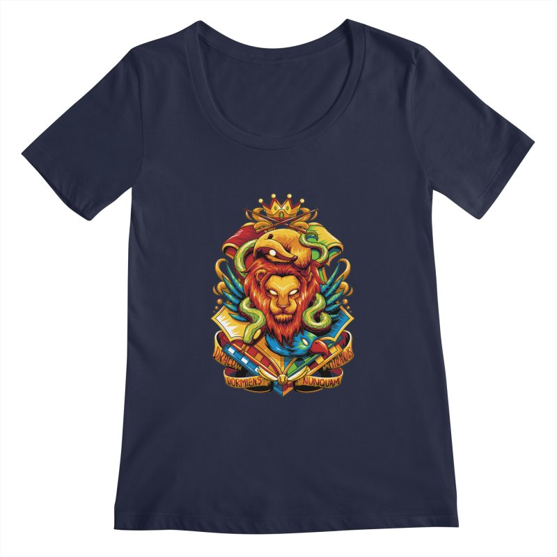 School of Magic Women's Scoopneck by anggatantama's Artist Shop