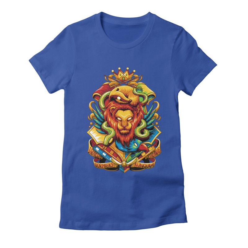 School of Magic Women's Fitted T-Shirt by anggatantama's Artist Shop